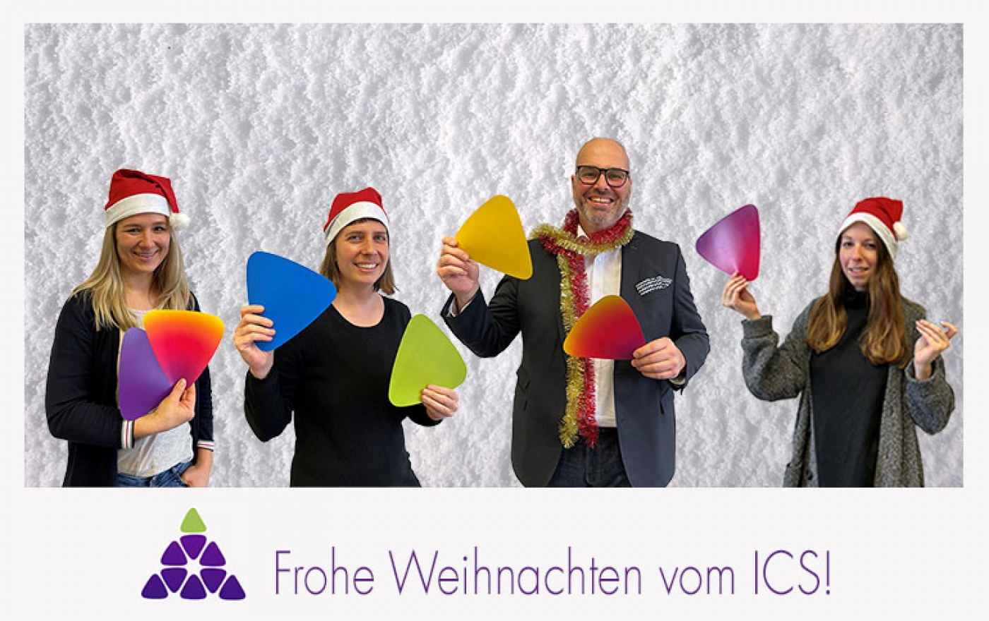 We wish you a merry ICS-mas and a happy new year!